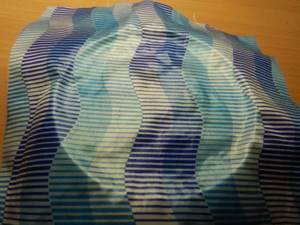 Декорирование крышки тканью
