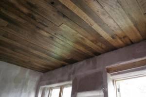 Как сделать потолок из досок своими руками