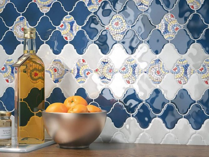 Каталог и цены: коллекция Арабески Kerama marazzi - Керамическая плитка — каталог для ванной цвет Бирюзовый