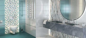 Каталог и цены: коллекция Blur Jungle Delacora - Керамическая плитка — каталог для ванной цвет Бирюзовый