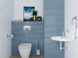 Каталог и цены: коллекция Метро Керамин - Керамическая плитка — каталог для ванной цвет Бирюзовый