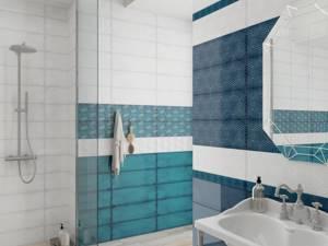 Каталог и цены: коллекция Парижанка LB-CERAMICS - Керамическая плитка — каталог для ванной цвет Бирюзовый