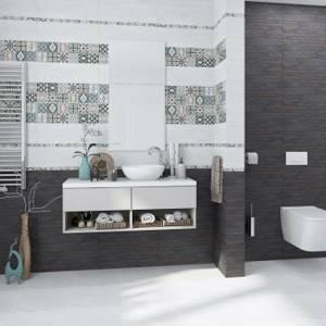 Каталог и цены: коллекция Scandi Alma Ceramica (Уралкерамика) - Керамическая плитка — каталог для ванной цвет Бирюзовый