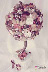 Новогодний топиарий дерево счастья